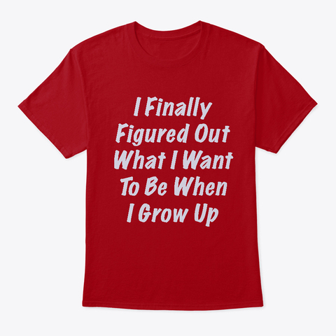 When I grow Up Front